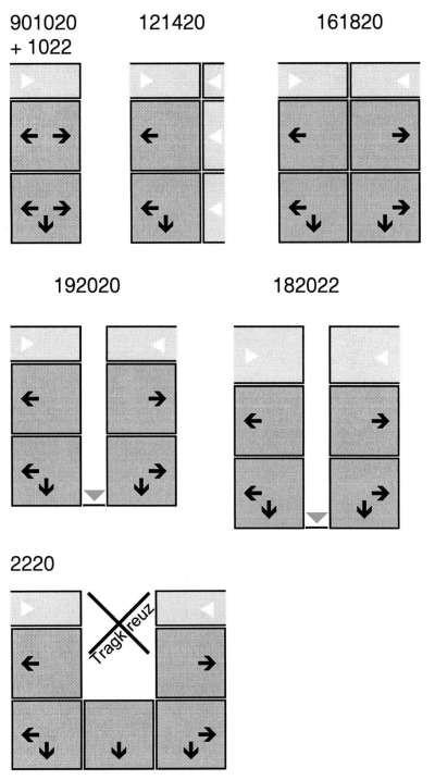 Skizzen Schubladen-Unterbauten
